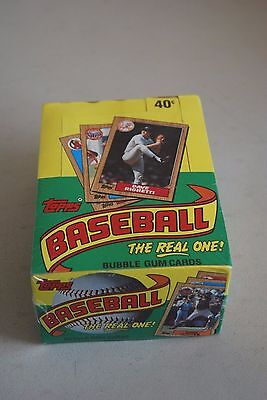 1987 Topps Baseball Wax Box 36 Sealed Packs Mint Unopened  Authentic PSA BGS ?