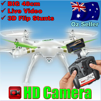 New 2.4G 6-Axis 4CH Gyro RC Quadcopter Helicopter Drone with HD Camera 360 Flips