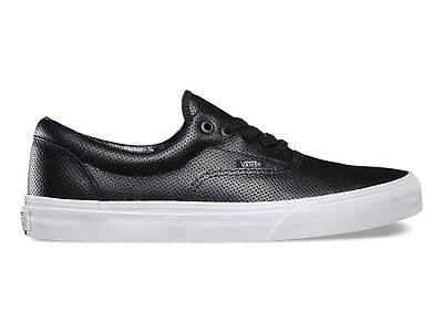 NEW Vans Era Perforated Leather Black