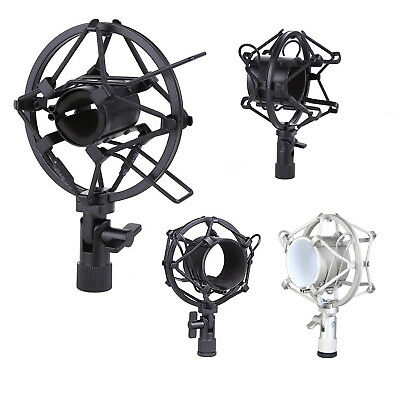 Microphone Shock Mount 50MM For 48MM-54MM Diameter Condenser Mic Silver PK