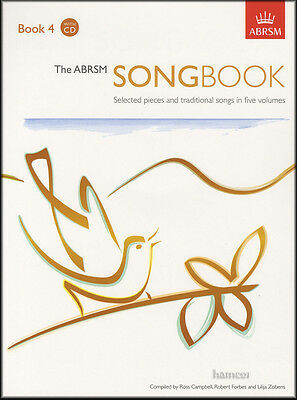The ABRSM Songbook 4 Vocal Music Book/2CDs Selected Pieces & Traditional Songs