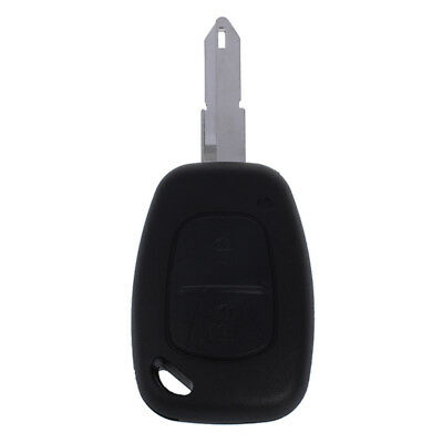 2 Button Remote Key Fob Case For Vauxhall Opel Vivaro Movano Renault Trafic PK
