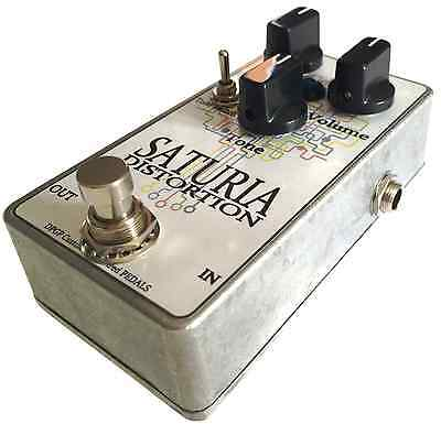 Saturia Distortion - Fuzz Overdrive guitar pedal boutique handwired Big Muff Ram