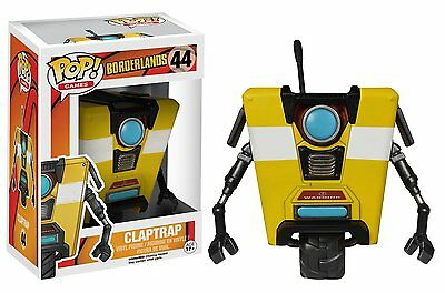 Funko Pop Games Borderlands: Clap Trap Vinyl Action Figure Collectible Toy 3.75""