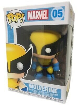 Funko Pop Marvel Comics - Wolverine Bobble Vinyl Action Figure Collectible Toy