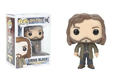 "Funko Pop Harry Potter Sirius Black Vinyl Action Figure 3.75"" Collectible Toy 16"