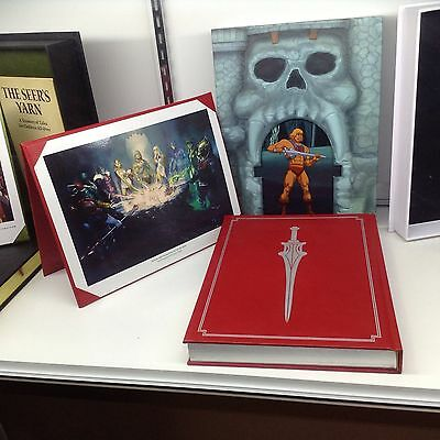 SDCC 2015 Mattel Dark Horse Exclusive Masters of the Universe Collectible Book