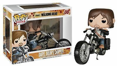 Funko Pop Rides - Walking Dead: Daryl Dixon & Chopper Vinyl Action Figure Toys