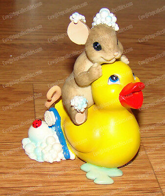 When Comes Friendship You really Clean UP (Charming Tails, 4035264) Rubber Duck