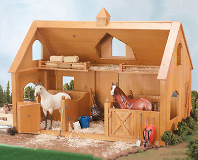 Breyer Traditional #302 Deluxe Wood Barn w/ Cupola (Horse & Accessories Sold Se