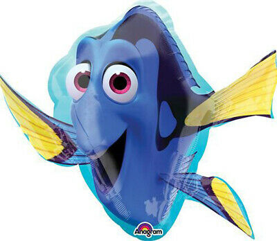 Finding Dory Shaped Balloon 76cm Birthday Party Supplies Decorations Foil