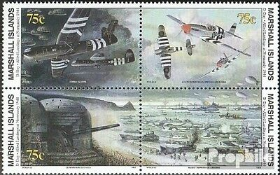 Marshall-Islands 517I-520 block of four I fine used / cancelled 1994 History of