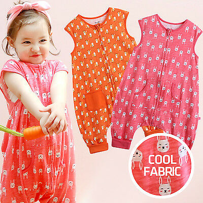 "Vaenait Baby Girls Clothes Kids Blanket Sleepsack ""Summer Girls coolcool"" 1T-7T"
