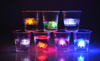 LED Waterproof Colorful Ice Float Changing Night Light Lamp For Pub Party
