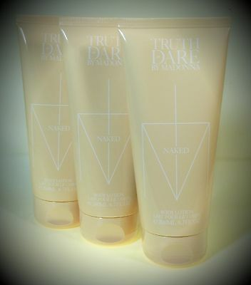 3 x Madonna Truth or Dare Body Lotion 200 ml