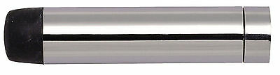"""100mm Polished Chrome Pencil Projecting Door Stop 4"""" Skirting Wall Mounted Stops"""
