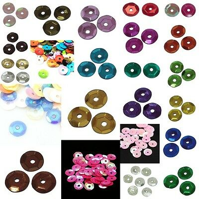 15g/1200 Premium Quality Cup Sequins - Huge Colour Choice - 6-7mm - lady-muck1