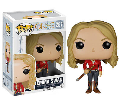 Funko Pop TV Once Upon A Time: Emma Swan Vinyl Action Figure Collectible Toy 267