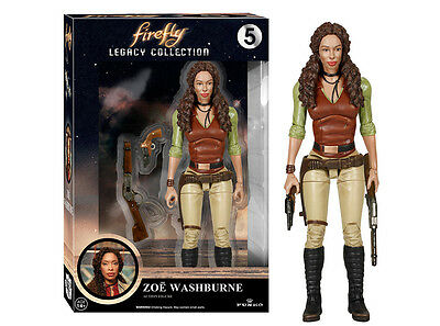 Funko Legacy Collection Firefly: Zoe Washburne Articulated Action Figure, 4792