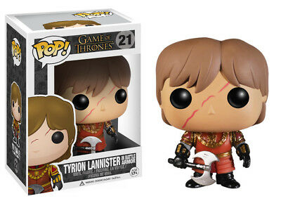 Funko Pop TV Game Of Thrones Tyrion Lannister Battle Armour Vinyl Action Figure