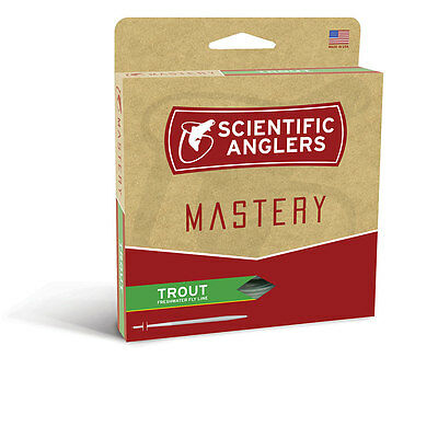 New Scientific Anglers Mastery Trout Fly Line WF-3-F **SHIPS WORLDWIDE***