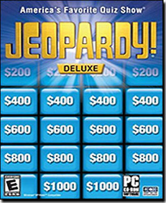 JEOPARDY! ROCK & ROLL Edition Quiz Show PC Game NEW! - $3 99