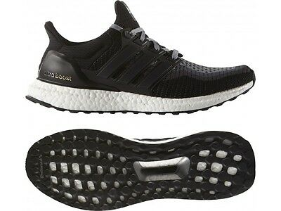 dbb29b5515c34 2016 Adidas ULTRA BOOST Prime knit Core Black 2.0 White Grey All Sizes ( BB3909)