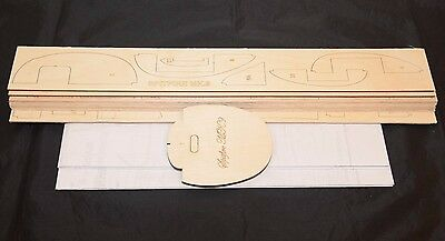 Large 1/7 Scale SPITFIRE MK.9 Laser Cut Short Kit & Plans 64 in. wing span