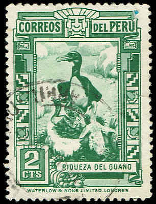Scott # 357 - 1936 - 'Peruvian  Cormorants (Guano Deposits) '