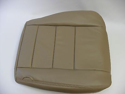 2002 to 2007 Ford F250 F350 Lariat Driver Side Bottom Seat Cover TAN All Vinyl