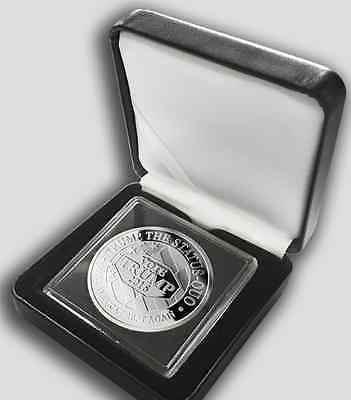 """IN BOX ~ 2016 """"HILLARY FOR PRISON & TRUMP FOR PRESIDENT"""" COLLECTIBLE COIN 1oz"""
