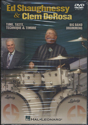 Ed Shaughnessy & Clem DeRosa Big Band Drumming DVD Technique Tuition