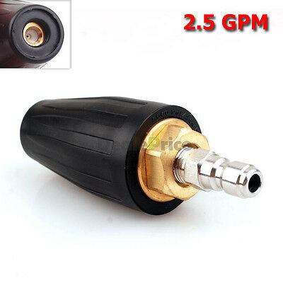 1PC High Pressure Washer Rotating-Rotary Turbo Nozzle 3600 PSI 2.5 GPM US Stock