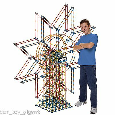 Knex - 89713 - Giant Double Ferris Wheel - Inklusive Universal 220V AC Adapter