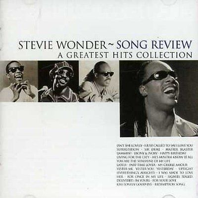 Stevie Wonder Song review-A greatest hits collection (1996) [CD]