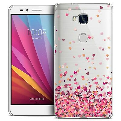 Coque Crystal Honor 5X Extra Fine Rigide Sweetie Heart Flakes