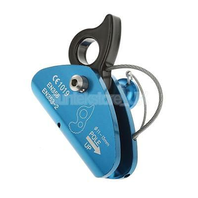 Rock Tree Climbing Rope Clamp Grab Protecta with Eye Equip For 11-13mm Rope