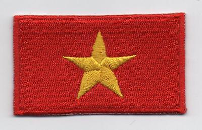 Embroidered VIETNAM Flag Iron on Sew on Patch Badge HIGH QUALITY APPLIQUE