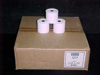 """Roll of 2-5/16"""" x 220' (2-3/4"""") Thermal POS Paper Rolls Cash Register Gas Pump"""
