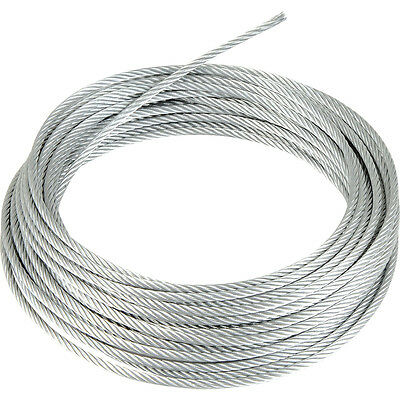 Stainless Steel Wire Rope cable 1mm 2mm 3mm 4mm 5mm FREE DELIVERY