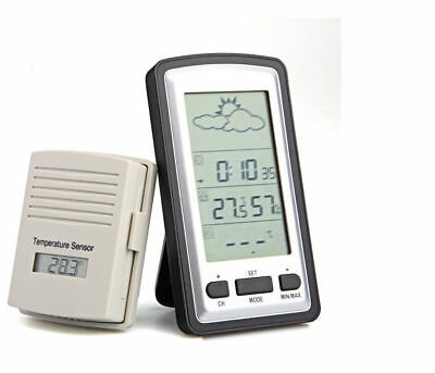Semi-Pro Wireless Weather Station With Remote Outdoor Sensor Brand New