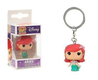 Funko Pocket Pop Keychain Disney: Ariel Vinyl Action Figure Collectible Toy 4858