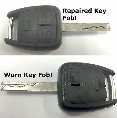 Repair service for Vauhxall Opel Vectra C remote key + new case