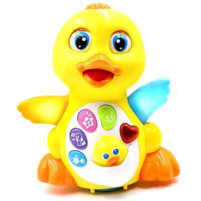 TOYK Musical Duck toy Lights Action With Adjustable Sound Baby Infant Toddler
