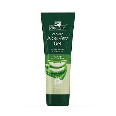 1 Tube of Aloe Pura Skin Treatment - Aloe Vera Organic Gel - 100ml