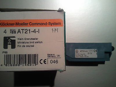 MOELLER AT21-4-I **NEW IN BOX** AT21 AT214I AT214l LIMIT SWITCH