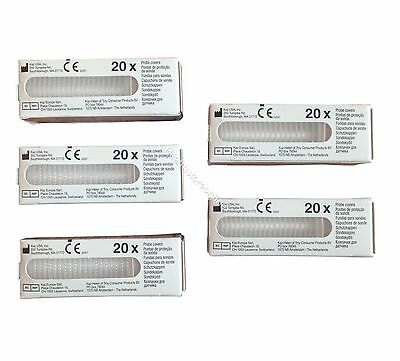 100x Braun Ear Probe Covers - Thermoscan Filter Caps - Fits all Models- Fast P&P