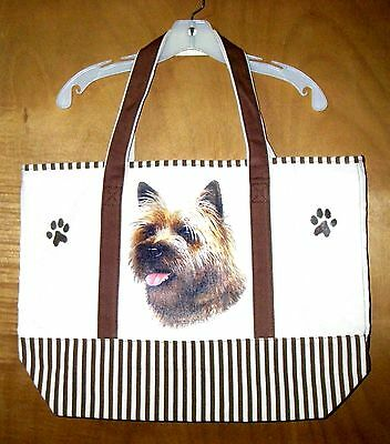 CAIRN TERRIER - 100% Cotton Canvas, heavy duty, X-Large TOTE BAG