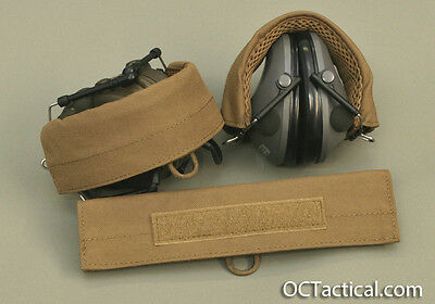 Coyote 498 Hearing Protection Cover Wrap for Peltor OC Tactical HP2