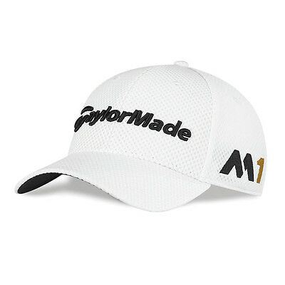NEW TaylorMade M1/Psi Tour Cage White Fitted S/M Hat/Cap